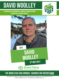 David Woolley Candidate Statement Leaflet
